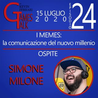 """Episodio #24 - """"I memes: la comunicazione del nuovo millennio"""" con Simone Milone"""