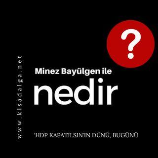 Minez Bayülgen ile Nedir?   'HDP kapatılsın'ın dünü, bugünü