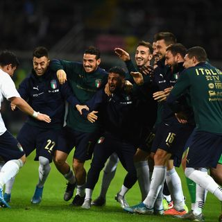 The Azzurri make a statement in Palermo