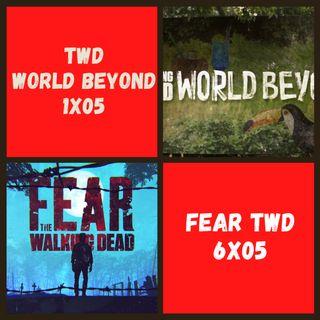TWD World Beyond 1x05 vs. Fear TWD 6x04 ¿Cuál estuvo mejor?