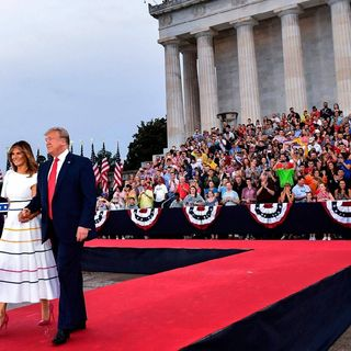 Trump saluted America in A #MAGA July 4 event, despite critics, What Do you Think About His Speech?