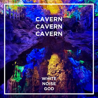 Cavern Ambience Full of Colors | White Noise | ASMR sounds for deep Sleep Better | Relax | Study | Work