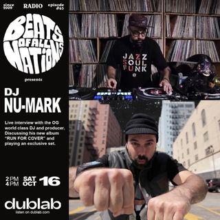 DJ NU-MARK + Demonslayer | Beats of All-Nations Radio 063 Live at Dublab
