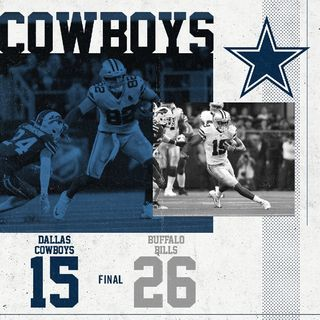 "Dallas Crockboys Lose To The Buffalo ""Dollar Bills"" #JoshAllen #EdOliver #ShaqLawson #ColeBeasley"