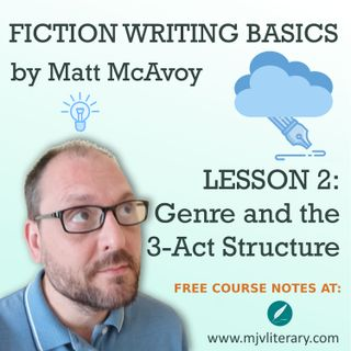 Fiction Writing Basics - Lesson 2: Genre and the 3-Act Structure