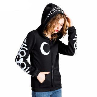 Buy Punk moon letters printed sweatshirts for women on EJStore.Net