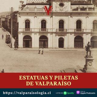 Estatuas y piletas de Valparaíso | Archivos de papel