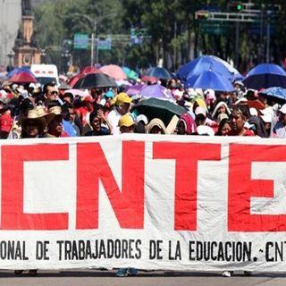 La CNTE anuncia más marchas y bloqueos en la CDMX