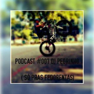 PODCAST #001 DJ PEDRINHO (SÓ PRAS FEDORENDAS)