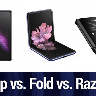 Z Flip vs. Fold vs. Razr with MrMobile | TWiT Bits