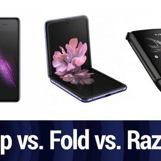 Z Flip vs. Fold vs. Razr with MrMobile | TWiT Bits
