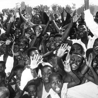 Der Kongo wird unabhängig (am 30.6.1960)