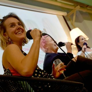 Show + Tell LIVE podcast with Tommy Little, Meshel Laurie and Sophie Cachia (The Young Mummy)