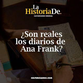 ¿Son reales los diarios de Ana Frank? • Historia Culturizando