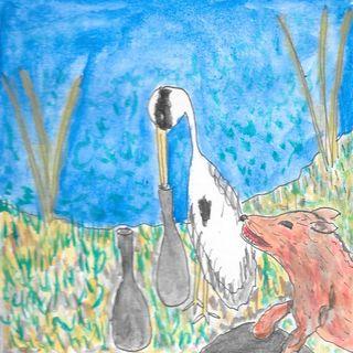L'airone e la volpe