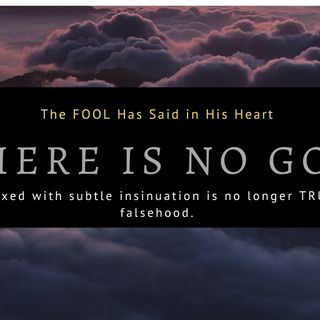 What the Fool Says