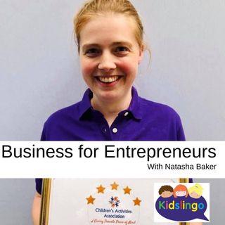 Business for Entrepreneurs with Natasha Baker