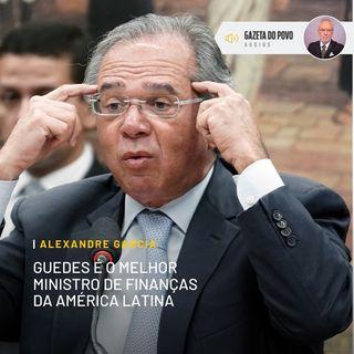 Paulo Guedes eleito melhor ministro da economia da América Latina