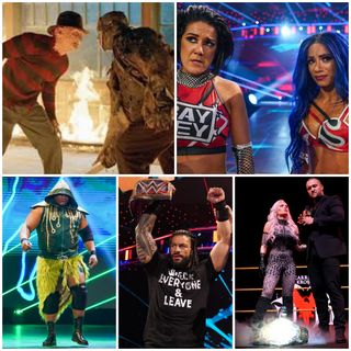 Ep 129 - Freddy vs. Jason vs. [signs contract] Roman (WWE Payback PPV + Freddy vs. Jason Recaps!)