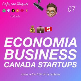 Café con Miguel - Noticias - hipotecas suben,multa de 50.000 Millones a Facebook startup Mnubo acquired by Aspen Technology Canada