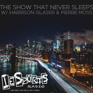 The Show That Never Sleeps- Talking all NY Sports & NFL schedule