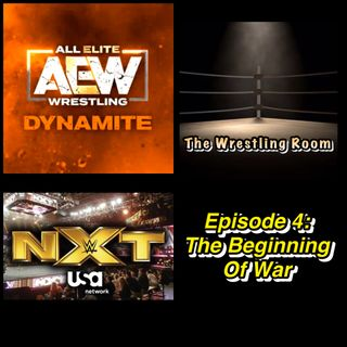 Wrestling Room Episode 4: The Beginning of War (Special Guest: Kyle Crane)