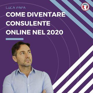 Come diventare consulente online nel 2020