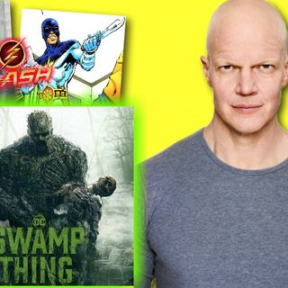 #283: Derek Mears on bringing the DC Comics superhero Swamp Thing to life!