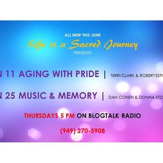S5:E1 - Robert Espinoza & Terri Clark -  Aging with Pride Part 2