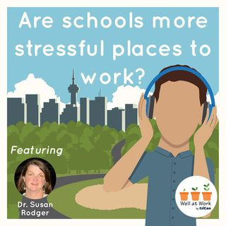 Are schools more stressful places to work?