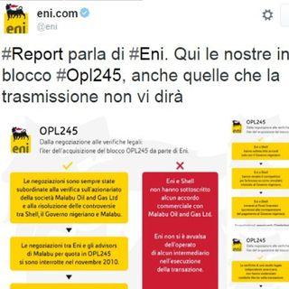 Report VS Eni