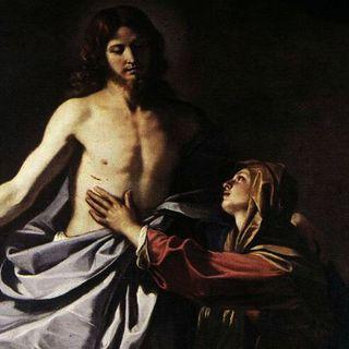 124 - Il Signore risorto appare alla Madonna