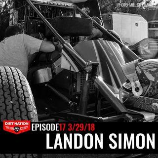 3/29/18 Episode 17 Landon Simon