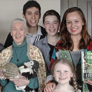 Youth Radio - Dame Jane Goodall 80th Birthday Tour