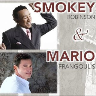 Smokey Robinson and Mario Frangoulis in STL for Voices for Veterans