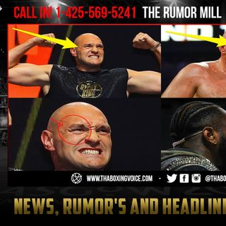 ☎️Wilder vs Fury 2: Rumor Tyson Fury Cut Re-Opened in SPARRING According to Deontay Wilder😱