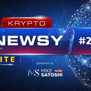 Krypto Newsy Lite #215 | 05.05.2021 | Dogecoin dalej leci w kosmos, Amerykanie kupią krypto w bankach, Bitcoin odbija od $53k
