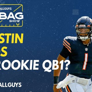 Is Justin Fields the rookie QB1? | Fantasy Football 2021