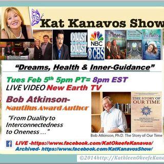 Kat Kanavos Show: Dr/Professor Robert Atkinson