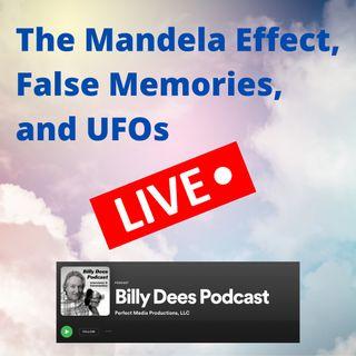 The Mandela Effect, False Memories, and UFOs