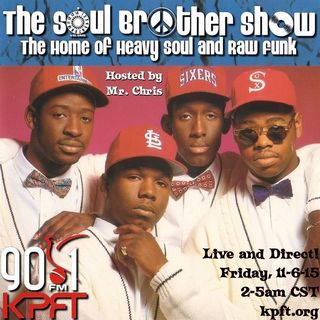Spinning  Classic 90s R&B on KPFT 90.1 FM