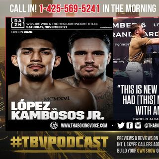 ☎️Canelo Possibly Making A MISTAKE FIGHTING ANGRY😤Teofimo Lopez vs George Kambosos Nov 27th❗️