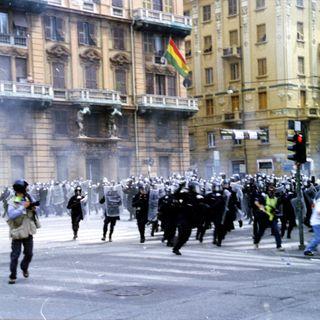 Clip sul G8 di Genova, 2001 - 22luglio2015