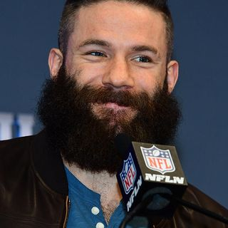 Julian Edelman's Beard Hair Is Raising Serious Money At Auction