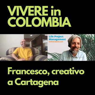 Francesco, creativo a Cartagena