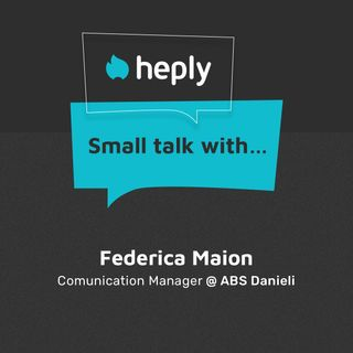 Small Talk With...Federica Maion di ABS
