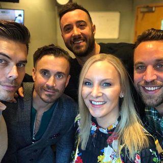 The Overtones on BBC Radio Leeds with @StephanieHirst 18-10-18