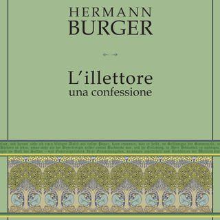 """Anna Ruchat """"L'illettore"""" Hermann Burger"""