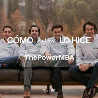ThePowerMBA: Rafael Gozalo, Borja Adanero, Hugo Arévalo y Kike Corral