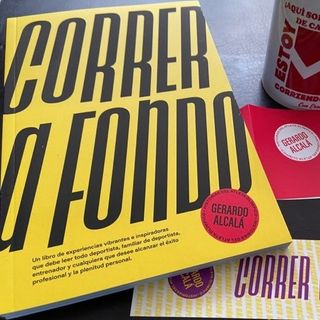 """Expedición Rosique #92: """"Correr a fondo"""", un libro de Gerardo Alcalá, sobre los valores del atletismo."""